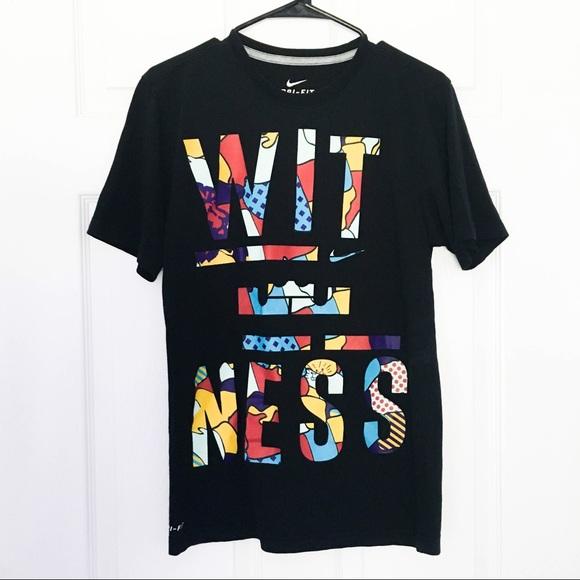 Nike LeBron James Witness Shirt. M 5b1e91387386bcda3c63567b 91c79666fac2